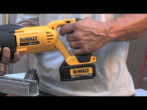DeWalt 20V Max Lithium Ion Reciprocating and Circular Saws - The Home Depot