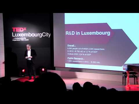 TEDxLuxembourgCity - Raymond Schadeck - R&D - Damned to fail?
