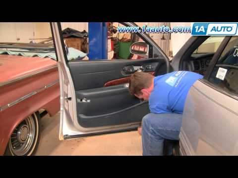 How To Install Remove Front Door Panel 1st Design Buick LeSabre 00-05 1AAuto.com