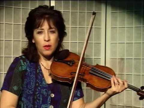 "Violin Lesson - demonstration of ""Sul Ponticello"""