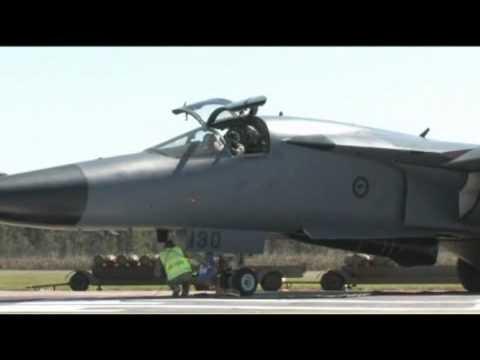 RAAF - F-111 Aerial Bombing