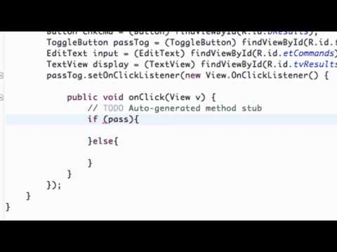 Android Application Development Tutorial - 26 - If Toggle Button is checked