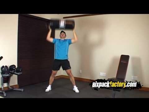 Hardcore Full Body Home Workout using Punching Bag