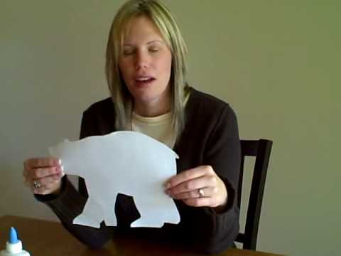 Polar Bear Children's Kid's Art Idea | Cullen's Abc's