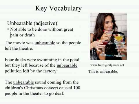 Live Intermediate English Lesson 47: How much noise 6: True Story Unbearable