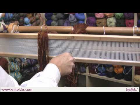 Kelley's Rigid Heddle Weaving Class - Part 6: Threading the Heddle