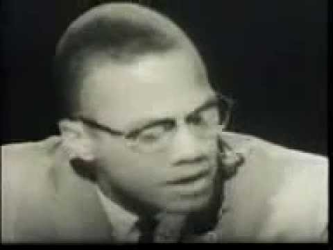 MALCOLM X: We Condemn People For Their Deeds Not Their Skin