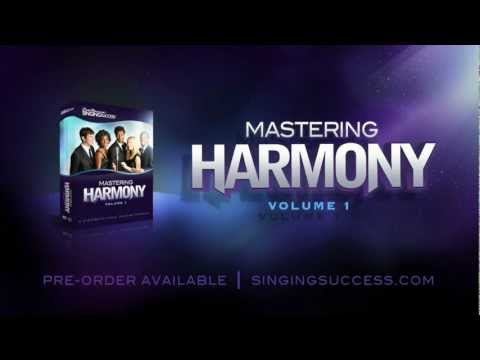 Learn How to Sing Harmony with Mastering Harmony Volume 1