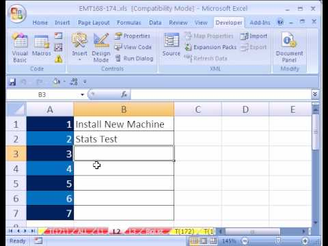 Excel Magic Trick #171: MACRO Data Validation from 3 lists