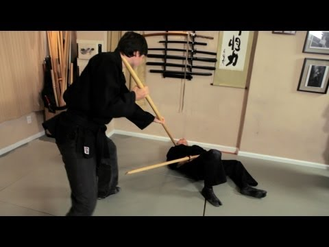 How to Use a Wooden Sword | Ninjutsu Weapons