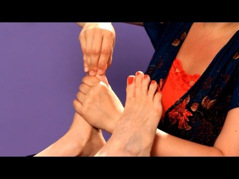 Working the Toes: Rotations | Foot Reflexology Techniques