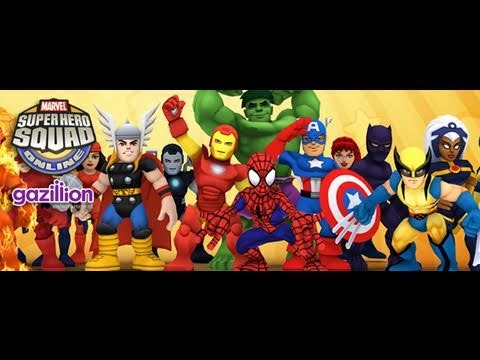 Marvel Superhero Squad Online Review