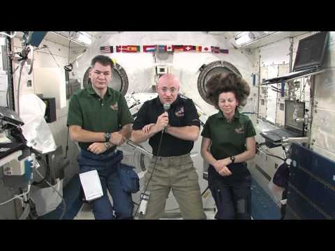 Expedition 26 ISS Crew Discusses Mission with Media