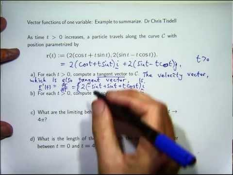 4 things you should know about vector functions