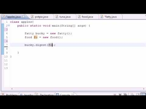 Java Programming Tutorial - 56 - Polymorphic Arguements