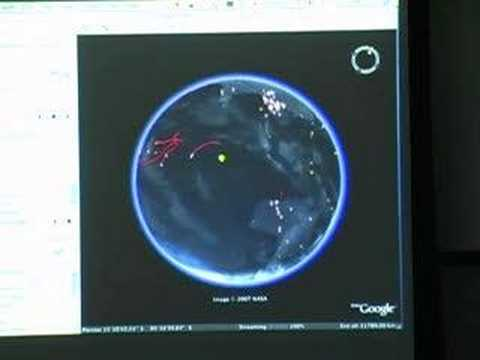 Using Google Earth for Near Real Time Natural Hazard...