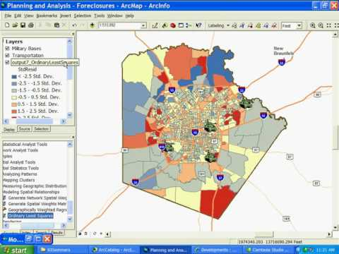 ArcGIS 9.3:  Advanced planning and analysis - Part 2