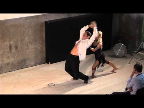 TEDxMadrid - Alexia McLeod and Miguel - Neo Classical Dance