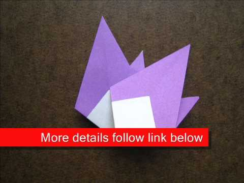 How to Fold Origami Sun - OrigamiInstruction.com