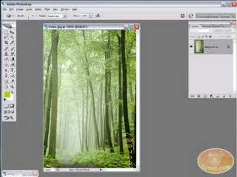 Photoshop Tutorial: Remove a Timestamp from a Photo!