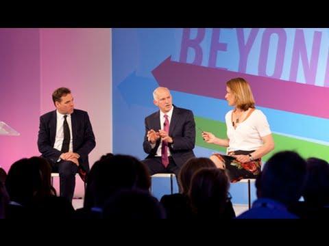 Beyond the Euro Crisis - Stephanie Flanders, Niall Ferguson & George A Papandreou  - Zeitgeist 2012