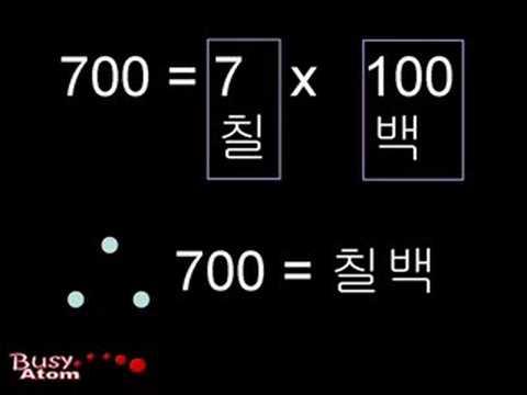 Read Numbers in Korean  0 to 99 billion.