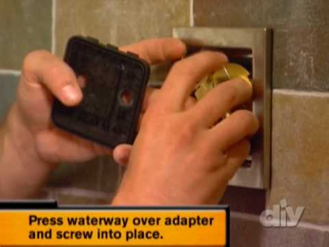 Give your shower some power!-DIY