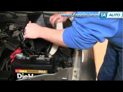 How to Install Replace Engine Air Filter Mercury Sable 00-05 3.0L 1AAuto.com