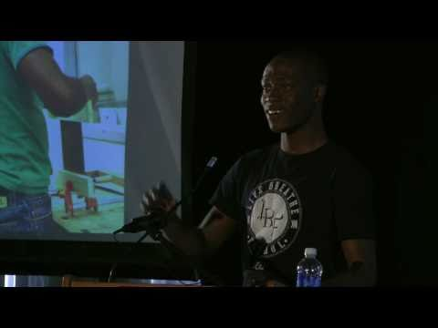 TEDxTempleU - Ebun Olaloye - Football, shirts, + a powerful idea