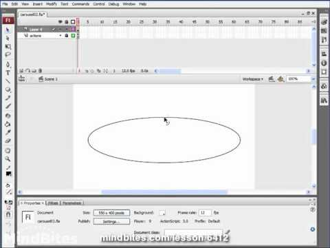 ActionScript 3 Animation 22: Adjusting Sizes