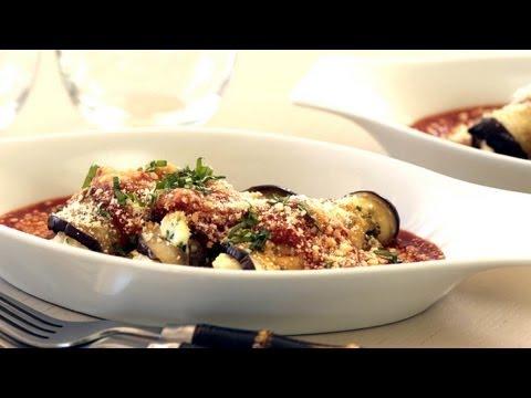Kin Eats Preview Eggplant Roulade Recipe || Kin Eats