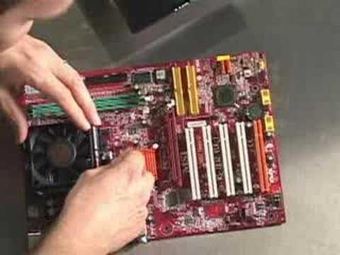 Build a Computer Part IV: Processor and RAM