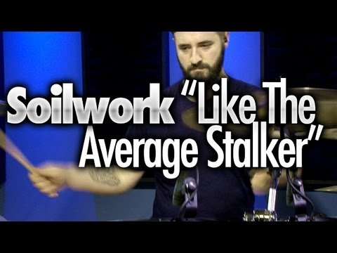 "Soilwork ""Like The Average Stalker"" Drum Cover By Sean Lang"