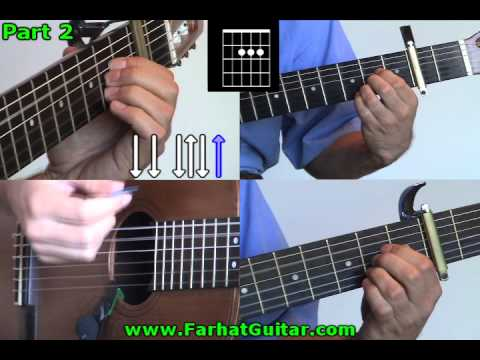 My Sweet Lord George Harrison Guitar Part  2 www.FarhatGuitar.com