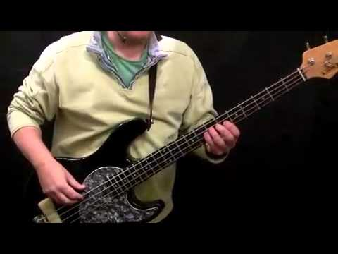 How To Play Bass Guitar to Little Wing - Jimi Hendrix - Noel Redding