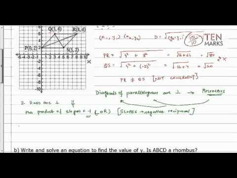 Identify Special Parallelograms