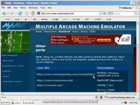 How to use MAME (Multi Arcade Machine Emulator)