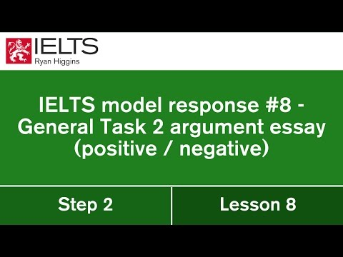 Let's write a model General IELTS essay from start to finish