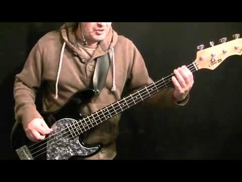 Learn How to Play Bass Guitar One Vision Part 2 - Queen - John Deacon