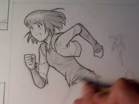 "How To Draw a Manga Figure in Motion (""Miki Falls"")"