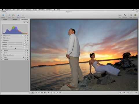 Aperture 2 Tutorials : 3.1.4 - Ajust - Image Editing - Adjusting Exposure