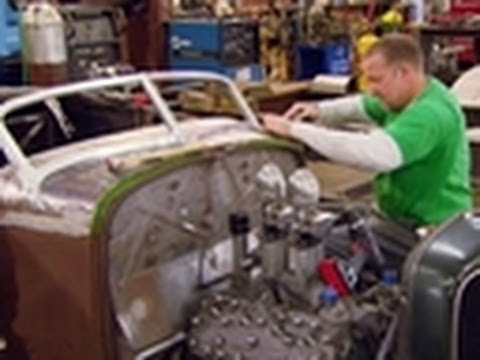 Installing the Windshield | Jesse James: Outlaw Garage