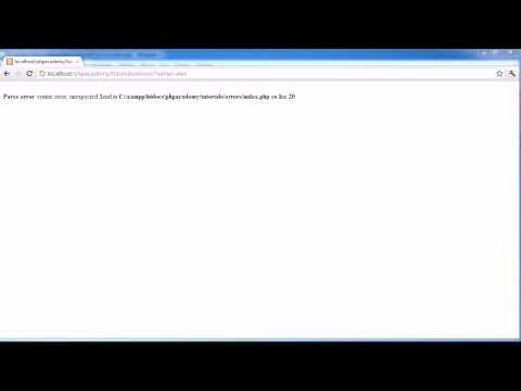 PHP Blooper: Muddled Words