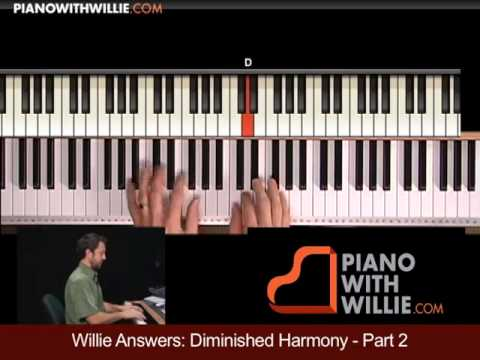 Willie Answers 9: Replace Dimished Chord With V7