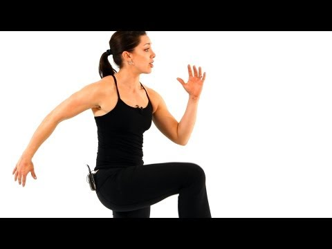 How to March in Place and High Jog | Boot Camp Workout for Women