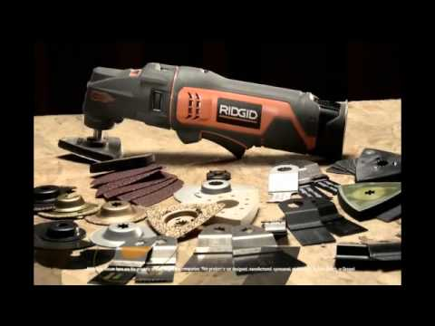 RIDGID JobMax Multi-Tool - The Home Depot
