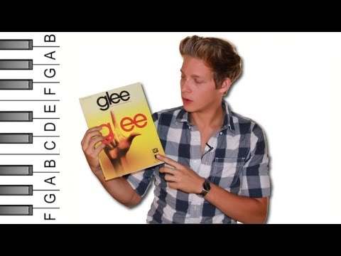 "How to Play ""Imagine"" (Glee Version) on Piano"