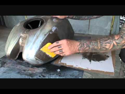 How To Paint Your Motorcycle Tank: From Start To Finish-Part 4