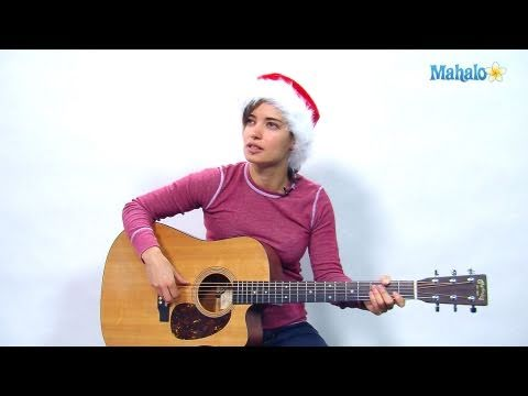 How to Play It's Beginning to Look a Lot Like Christmas on Guitar
