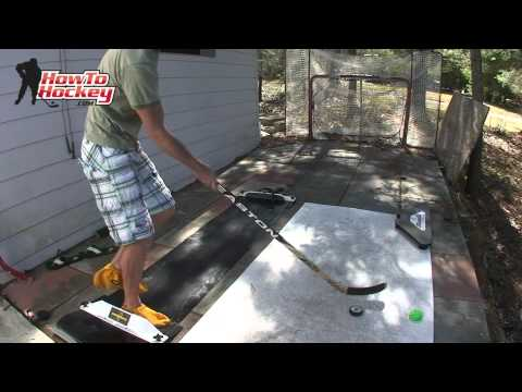 Ultimate Off Ice Combo - Slideboard and Shooting Pad